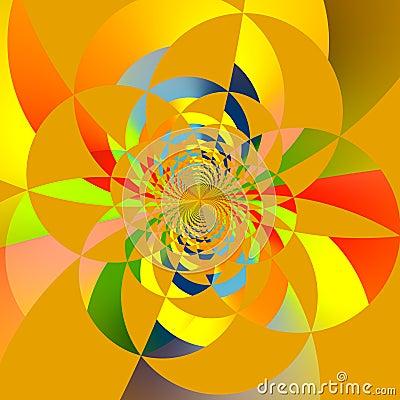 Free Intersecting Circles Fractal Stock Photos - 38988653