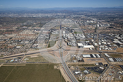 Interstate 10 and Loop 202 Interchange