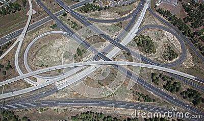 Interstate 17 & 40 Interchange
