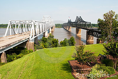 Interstate 20 bridge at Vicksburg, MS