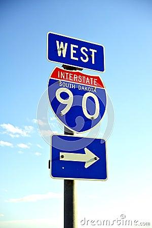Interstate 90 West