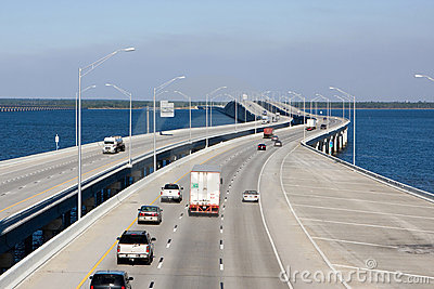 Interstate Highway Bridge Stock Photos - Image: 11729163