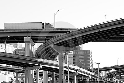 Interstate overpass