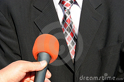 Intervista della TV