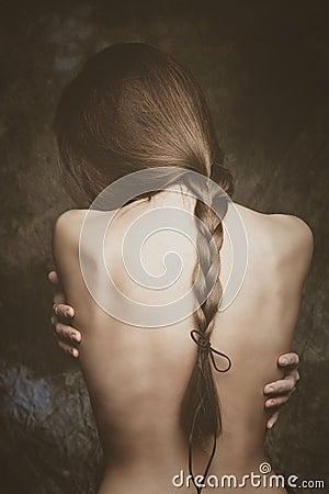 Free Intimate Woman Portrait Stock Image - 63589201