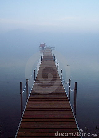Free Into The Fog Royalty Free Stock Photos - 1597938