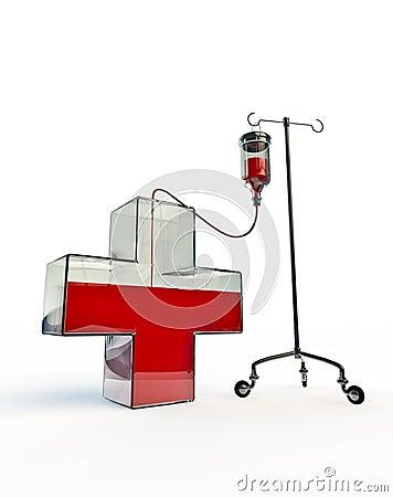 Intravenous cross