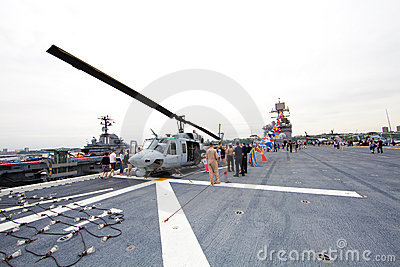 The Intrepid Sea-Air-Space Museum Editorial Photography