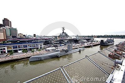 The Intrepid Sea-Air-Space Museum Editorial Stock Image