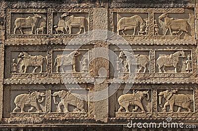 Intricate Animal Carvings