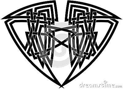 Intricate Celtic knot