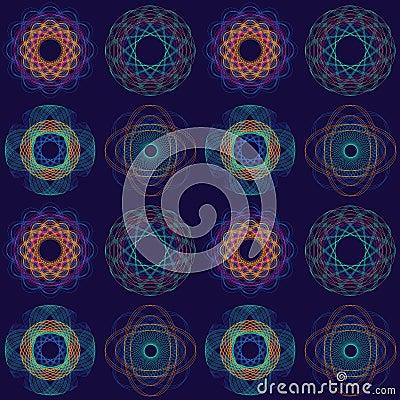 Intricate Circular Pattern
