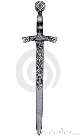 Intricate dagger with path