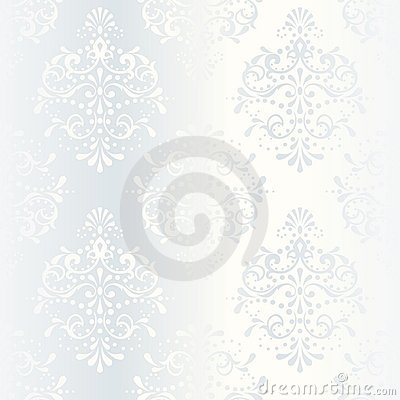 Free Intricate White Satin Wedding Pattern Royalty Free Stock Photo - 10028685