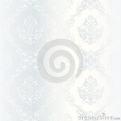 Free Intricate White Satin Wedding Pattern Stock Images - 9947014