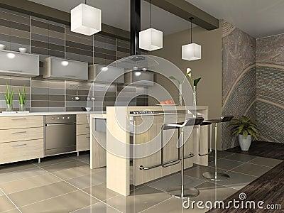 Int rieur de l 39 appartement moderne photos stock image 4387853 - Photo interieur appartement moderne ...