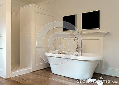 Intérieur de salle de bains