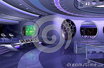 Int rieur du vaisseau spatial 3d images libres de droits image 12222849 - Interieur vaisseau spatial ...