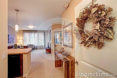 int rieur moderne d 39 appartement plan d 39 tage ouvert photo stock image 40476066. Black Bedroom Furniture Sets. Home Design Ideas