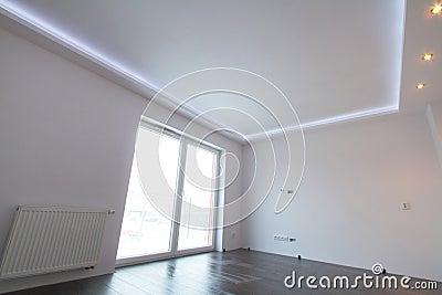 Intérieur moderne de salle de séjour