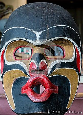 Free Inuit Totem Mask Royalty Free Stock Photo - 78394955