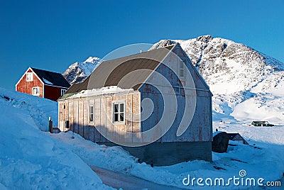 Inuit village