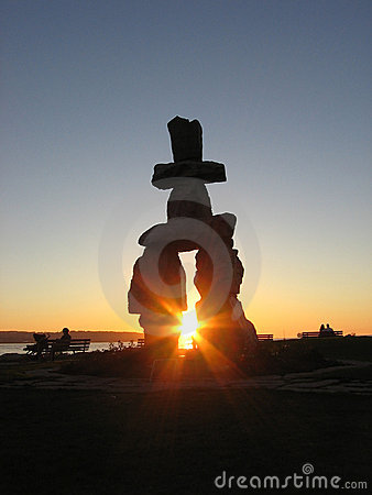 Free Inukshuk Stock Photo - 1436340