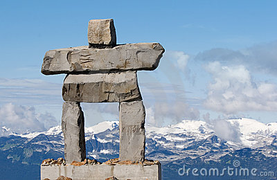Inukshuk - inuit symbol for  the way