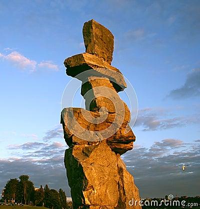 Inukshuk Vancouver, Canada