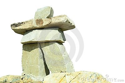 Inukshuk Vancouver Olympics