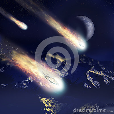Free Invasion Coming From The Stars Stock Images - 90152224