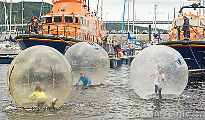 Inverness Boat Festival. Editorial Stock Photo