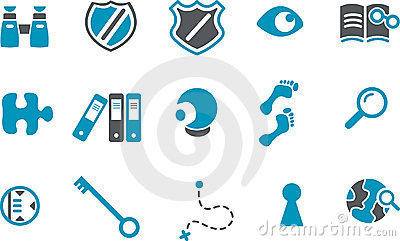 Investigation Icon Set