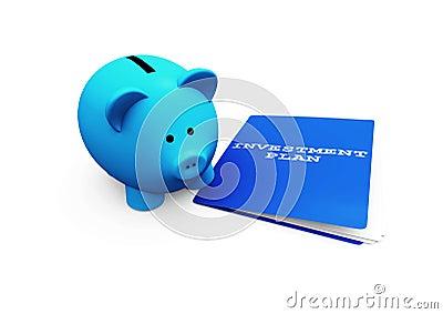 Investimento de banco Piggy