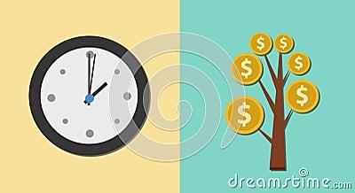 Investition und Finanzkonzept 2d Animation stock video