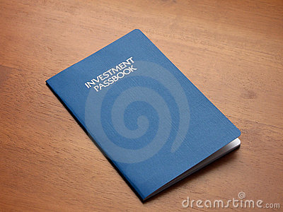 Investment account passbook
