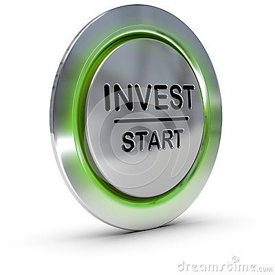 Free Investment Concept. Invest. Risk Management Stock Images - 28862194