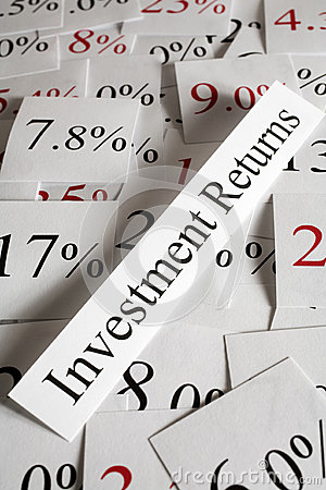 Investment Returns Concept