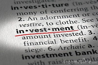 investment definition