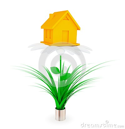 Investments to real estate concept.