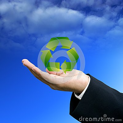 Investor show the recycle technology