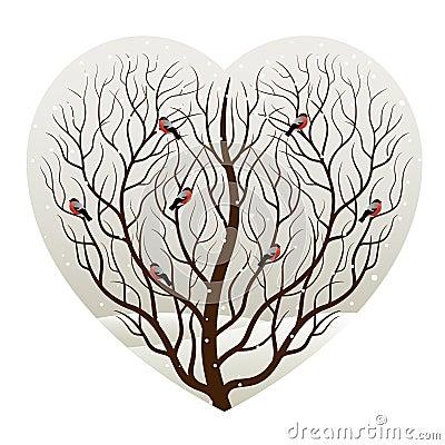 Invierno en corazón