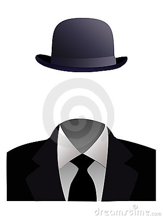 Free Invisible Man Concept Stock Photography - 4673652