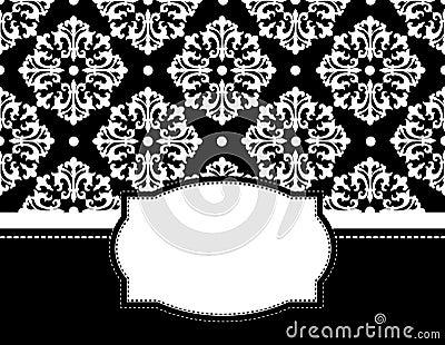 Elegant Background Pattern Black And White Elegant black and white