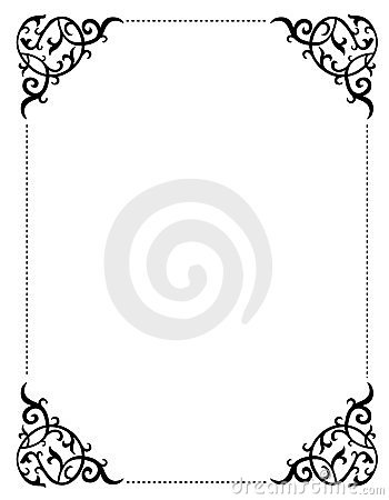 Free Invitation Border / Frame Royalty Free Stock Images - 24195109