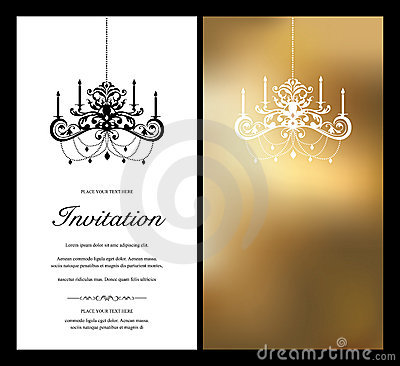 Invitation Card Royalty Free Stock Image Image 12424226