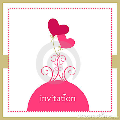 Free Invitation Card Stock Images - 9216594