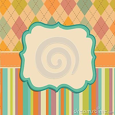 Free Invitation Card Background, Border Frame Patterns Stock Images - 36096654