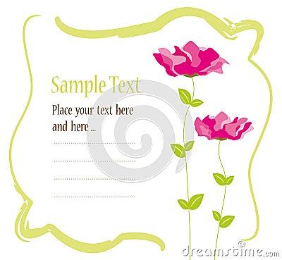 Invitation Card Design Royalty Free Photos Image 16000468 – Invitation Cards Designs