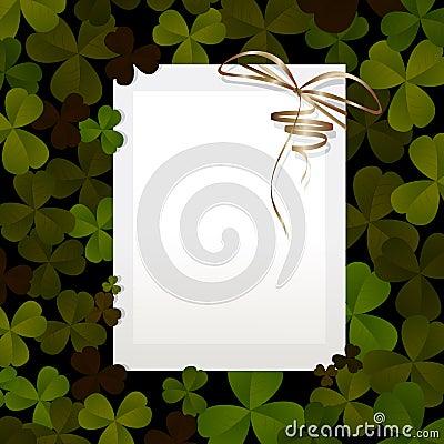 Invitation for St. Patricks Day